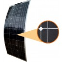 100W ETFE semi flexible solar  panel