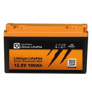Aku LIONTRON LiFePO4 12,8V  100Ah LX smart BMS w. Bluetooth