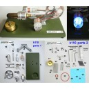 Stirling-generaatori mudeli komplekt